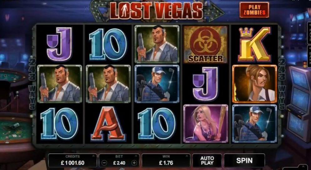 สล็อตเล่นแล้วรวย กับเกมส์ Lost Vegas Slot